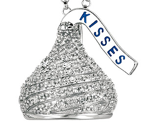 Hershey kisses pendant buy this bling hershey kisses pendant mozeypictures Choice Image