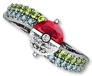 Pokemon Engagement Ring