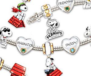 Snoopy Charm Bracelet