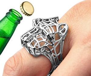 lion ring bottle opener buy this bling. Black Bedroom Furniture Sets. Home Design Ideas