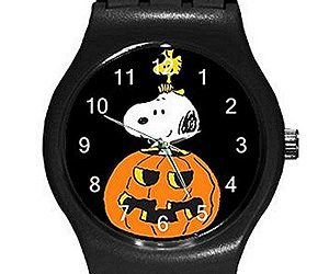 snoopy halloween watch